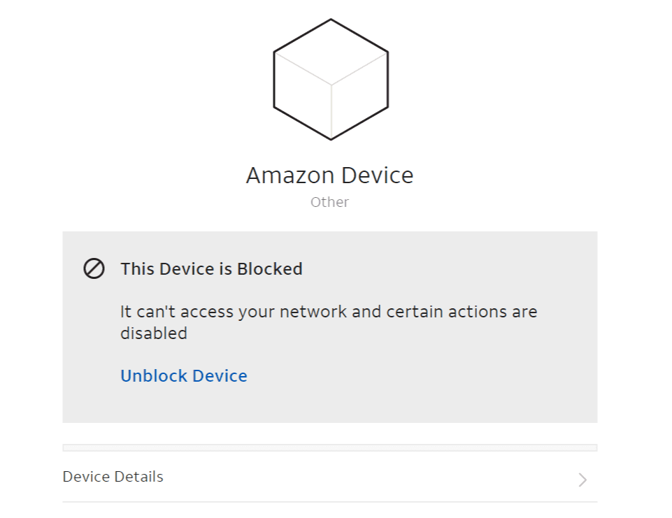 Blocking Wi-Fi Access Via AT&T Smart Home Manager