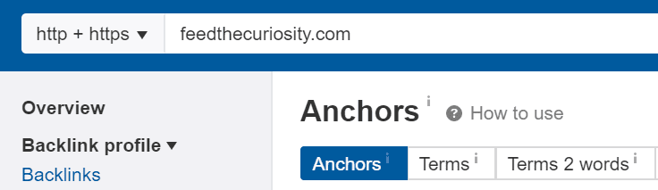 Types of Anchor Texts and SEO