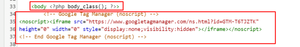 installing google tag manager body code in wordpress.png