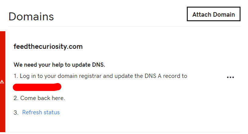 godaddy asking to switch nameservers back to them after switching to cloudflare