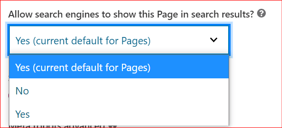 how to noindex a page from search engines using Yoast