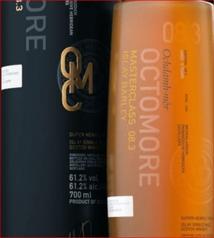 Octomore 08.3 Peated Whisky